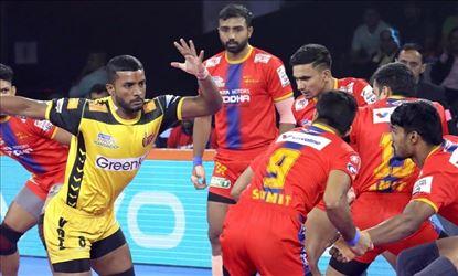 Pro Kabaddi 2019 Telugu Titans Vs UP Yoddha