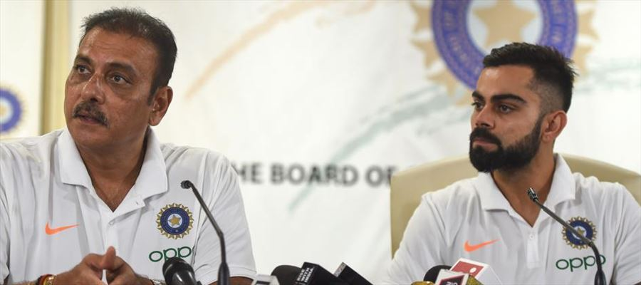 Coach & Captain addressed Media before leaving for ICC World Cup 2019
