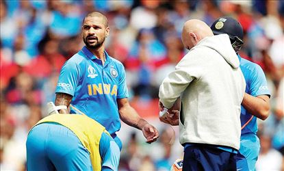 Shikhar Dhawan Ruled out of the World Cup, Pant Replaces Him