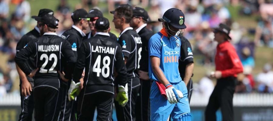 Billions Dream come to an End, India lost in Semi-final against New Zealand