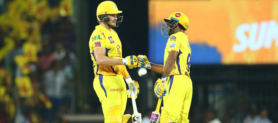 #CSKvSRH - Watson misses Century, But CSK wins the match!