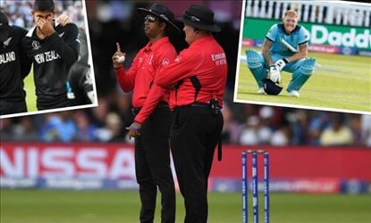 Was there any judgmental error in World Cup Final 2019 by Umpire?