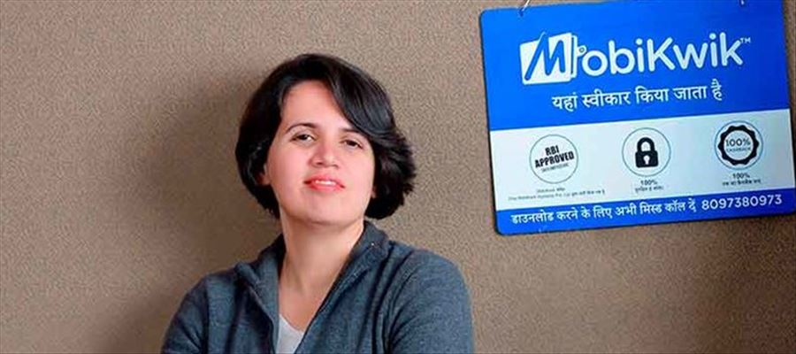 Upasana Taku a successful woman entrepreneur of Mobikwik