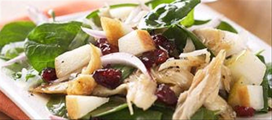 How to make Grilled Chicken Pear Salad