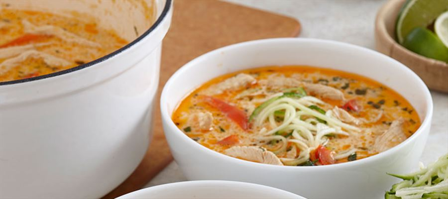 How to make Thai Noodle Soup